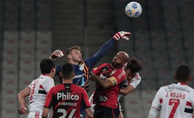 Athletico pode deixar a zona de classificação da Libertadores