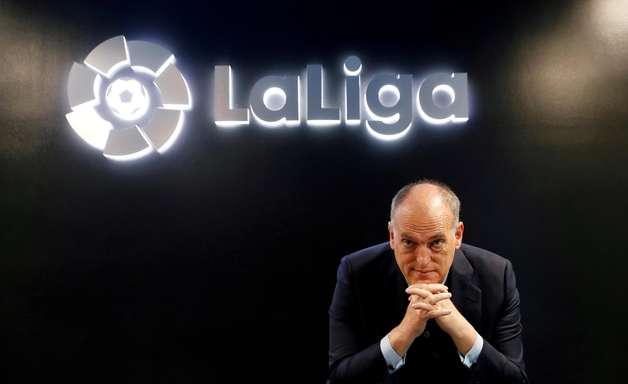 """Presidente da LaLiga: saída de Messi é """"um pouco traumática"""""""