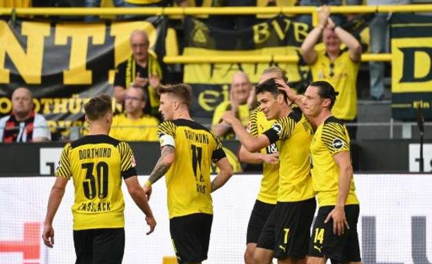 Borussia Dortmund com goleada sobre o Entracht Frankfurt