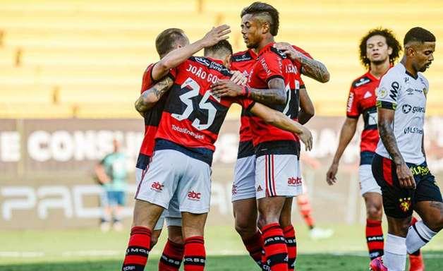 Flamengo vence o Sport e encosta de vez no G-4 do Brasileiro
