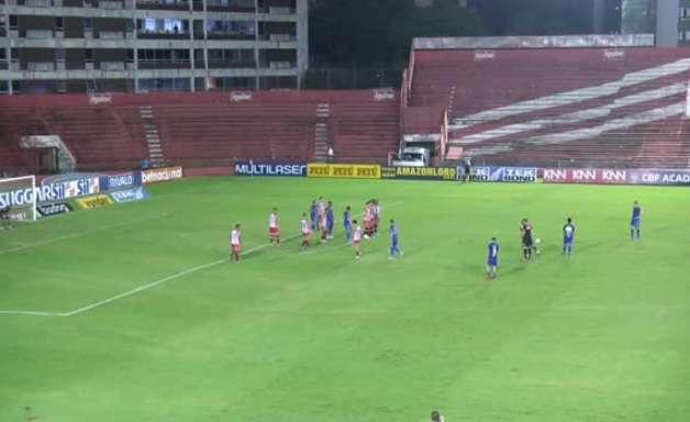 SÉRIE B: Gol de Náutico 0 x 1 Cruzeiro