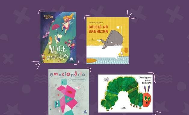 12 ofertas de livros infantis que valem a pena na Book Friday, da Amazon