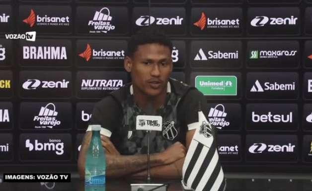 """CEARÁ: Rick não se diz surpreso em ser artilheiro do Brasileiro: """"Quando eu entro em campo, entro determinado em fazer gols"""""""