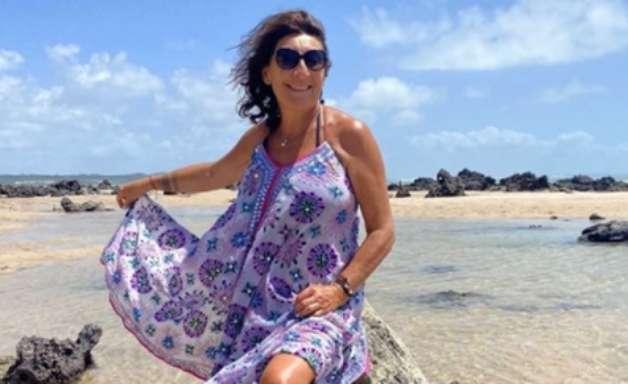 Família da série 'Imóveis de Luxo' curte férias no Nordeste