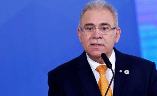 Ministro da Saúde, Marcelo Queiroga está com covid-19