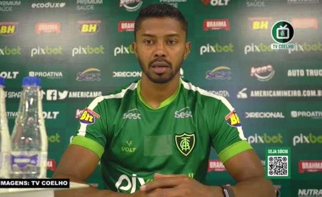 """AMÉRICA-MG: Ricardo Silva se diz triste pelo mau momento da equipe na temporada e garante: """"Estamos mobilizados para sair desta situação"""""""