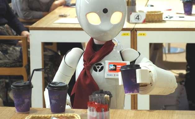 Café Robótico no Japão com um toque de inclusividade