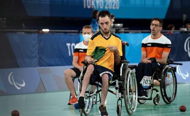 Brasil oscila nos primeiros duelos de bocha nos Jogos Paralímpicos
