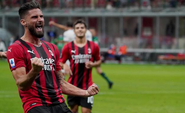 Em boa fase no Milan, Giroud testa positivo para covid