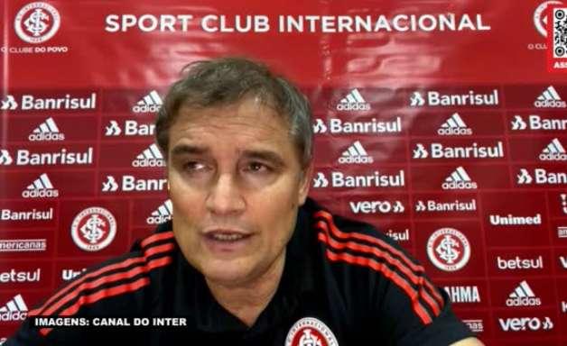 INTERNACIONAL: Aguirre reconhece necessidade de melhoras na equipe e espera aproveitar período sem jogos para ajustar detalhes