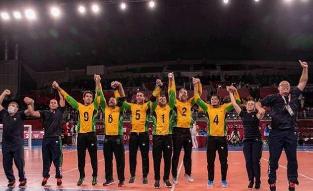 Brasil conquista medalha de ouro inédita no goalball nas Paralimpíadas