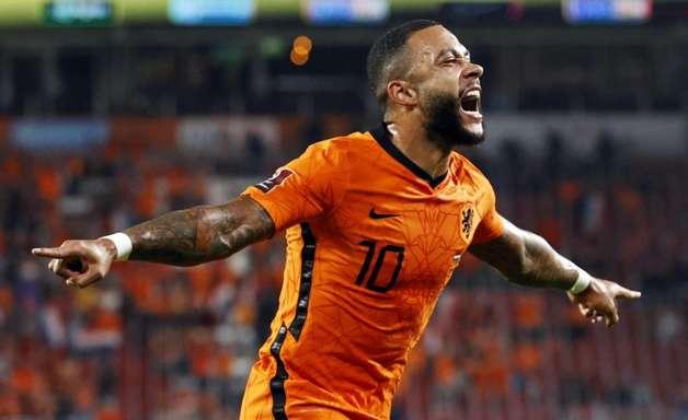 Eliminatórias: Holanda goleia Montenegro com dois de Depay