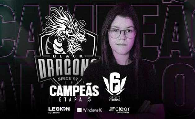 Black Dragons volta a dominar Circuito Feminino de Rainbow Six