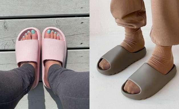 Chinelo nuvem: o sapato confortável que dominou os pés das fashionistas