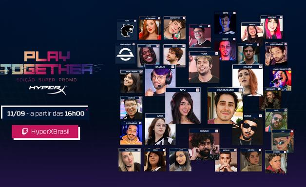 Superpromo HyperX começa neste sábado (11) com live