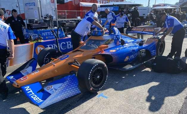 Palou supera Castroneves e lidera TL1 da Indy em Portland. Grosjean é 6º