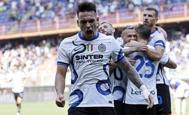 Internazionale sai na frente, mas leva empate da Sampdoria