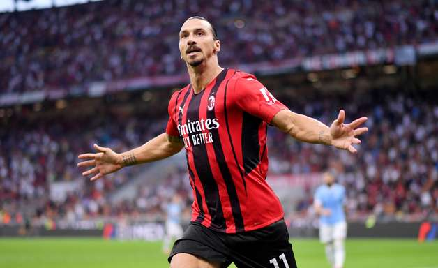 Ibrahimovic volta com gol, e Milan bate Lazio pelo Italiano