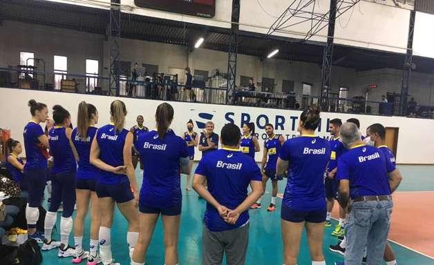 Seleção feminina embarca nesta segunda para o Sul-Americano de vôlei