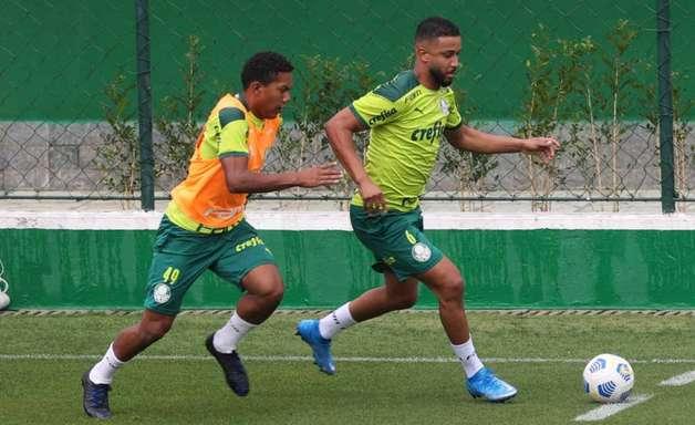 Com Jorge em campo, Palmeiras inicia sua preparação para enfrentar a Chapecoense