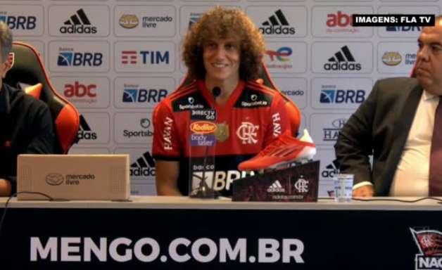 """FLAMENGO: """"Mais um grande desafio na minha vida"""", reconhece David Luiz ao falar do peso de vestir a camisa rubro-negro"""
