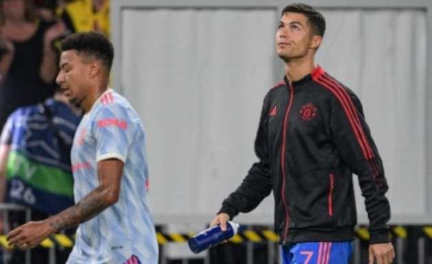 Solskjaer explica motivo de substituir Cristiano Ronaldo em derrota do Manchester United na Champions