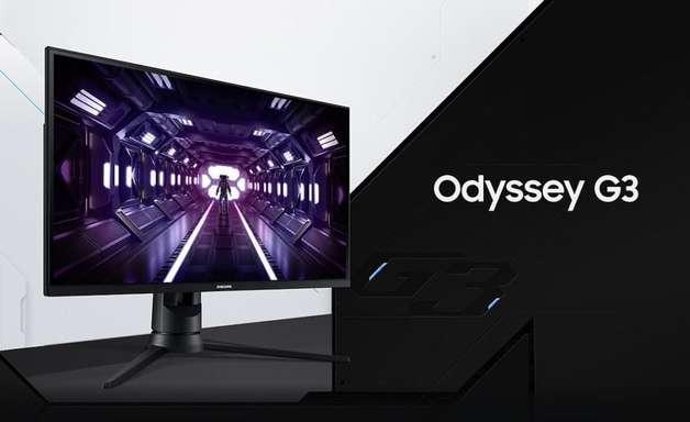 Samsung lança monitor gamer Odyssey G3 no Brasil com 144 Hz e preço alto