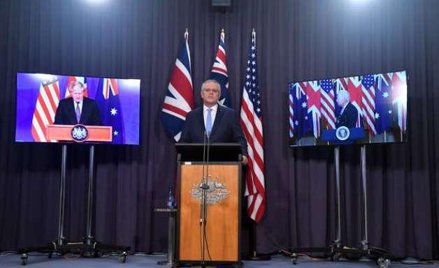 EUA, GB e Austrália anunciam aliança; China e França criticam
