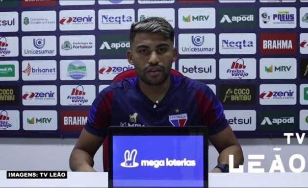 """FORTALEZA: Ronald comemora gol que abriu a vitória sobre o São Paulo e que garantiu a vaga na próxima fase da Copa do Brasil: """"Nem consegui dormir"""""""