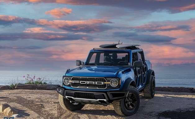 Ford Bronco ganhará versão Raptor com motor V6 de 501 cv
