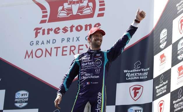 """Grosjean vibra com """"renascimento"""" na Indy após frustração na F1: """"É melhor estar aqui"""""""