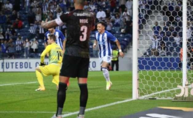 Ex-Grêmio, Pepê festeja primeiro gol com a camisa do Porto