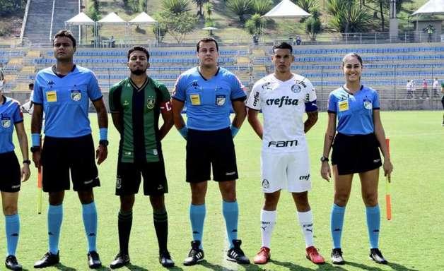 Endrick marca e Palmeiras quebra sequência do América Mineiro no Brasileiro Sub-20