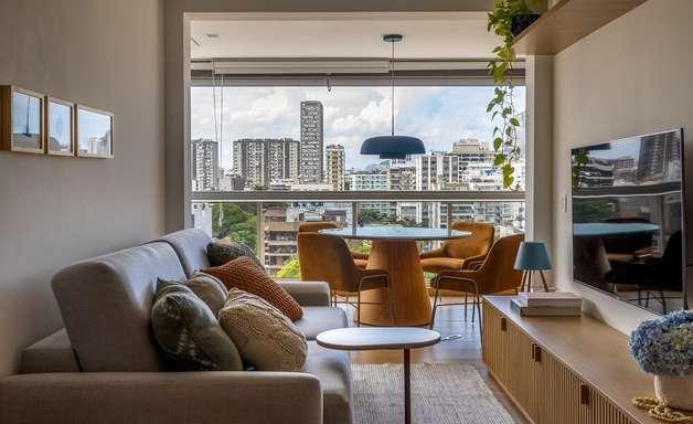 Decoração de Apartamento no Rio Traz a Essência Nordestina