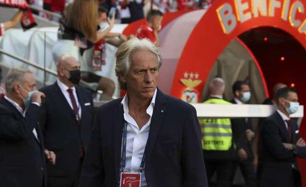 Técnico Jorge Jesus atinge marca histórica no Benfica