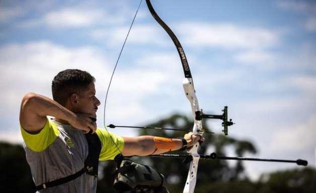 Marcus D'Almeida se classifica em segundo no Mundial de tiro com arco