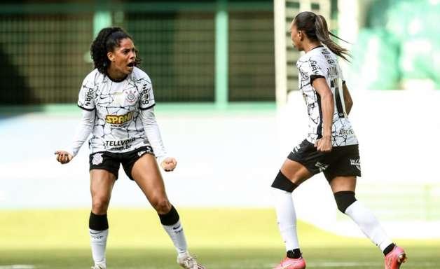 Pelo Paulistão Feminino, Corinthians visita o Palmeiras e empata em 1 a 1