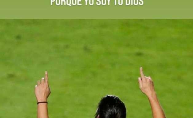 """Após não jogar contra o América-MG, Benítez publica mensagem no Instagram: """"Não desanime"""""""