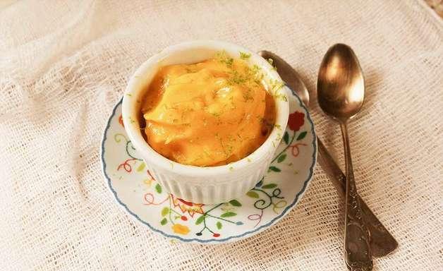 Dia do Sorvete: Comemore com um sorvete de manga com coco no liquidificador