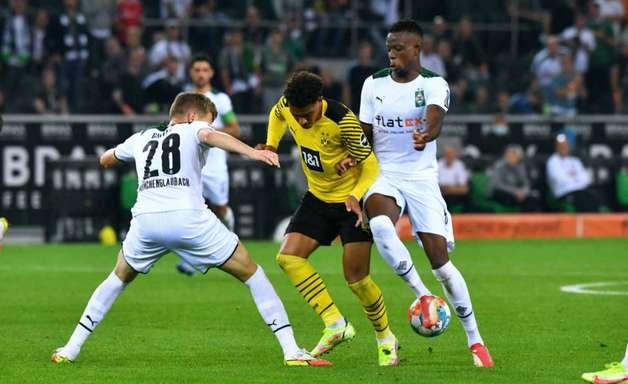 Sem Haaland, Dortmund perde para o Mönchengladbach no Alemão