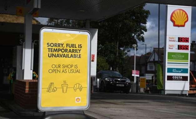 Crise da gasolina causa pânico entre moradores do Reino Unido
