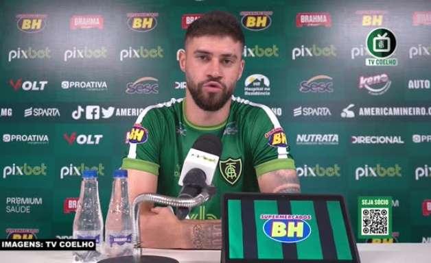 """AMÉRICA-MG: Fabrício Daniel espera que equipe mantenha embalo no Brasileiro, focado em uma vaga na Sulamericana: """"Trabalhamos para isso"""""""