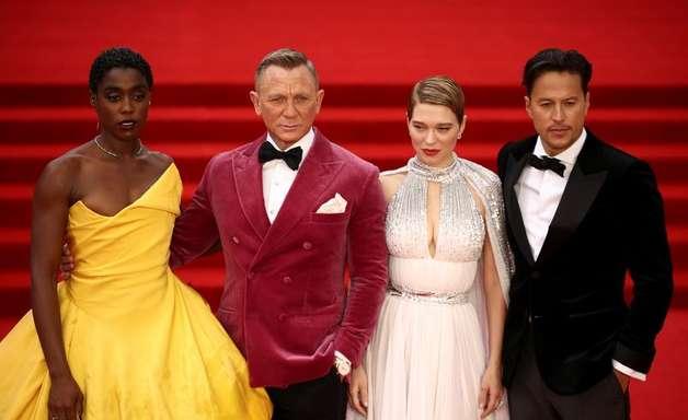 """James Bond está de volta: """"007 - Sem Tempo para Morrer"""" estreia em Londres"""