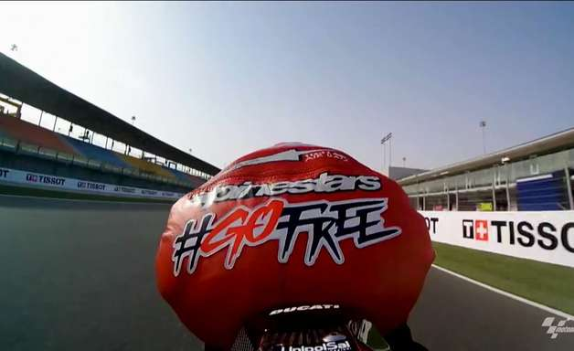 F1 promove chegada do GP do Catar ao calendário com volta rápida da MotoGP