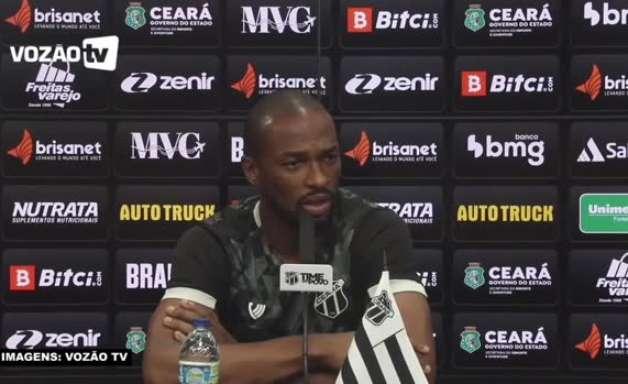 """CEARÁ: """"Estou feliz demais"""", celebra Luiz Otávio sobre o retorno da torcida ao Castelão"""