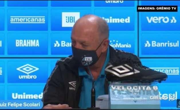 """GRÊMIO: Felipão revela projeção para equipe sair do Z4 e afirma: """"Estamos com 4 pontos de atraso"""""""