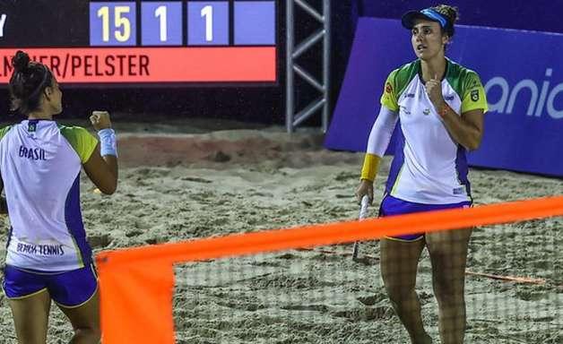 Brasil bate a Alemanha e encara o Chile nas quartas do Mundial de Beach Tennis