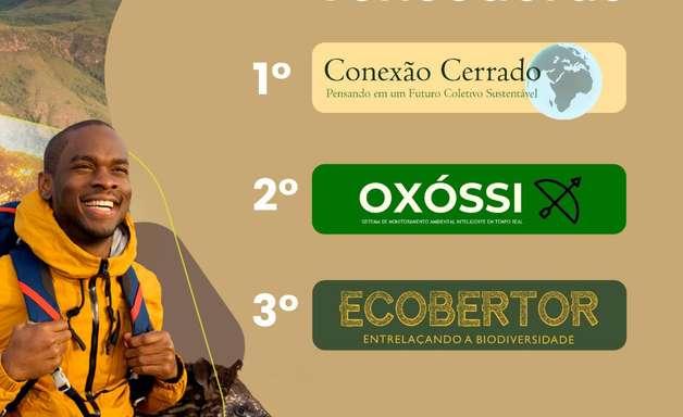 Conheça os vencedores da maratona de ideação para o Cerrado