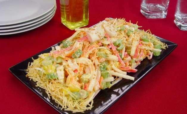 Receita de salpicão japonês para inovar no preparo