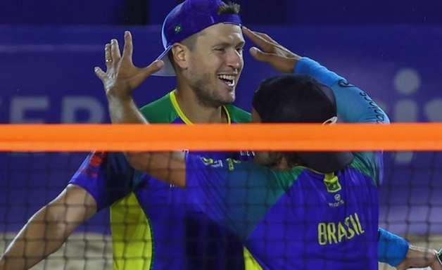 Brasil vai à final contra a Itália e busca o TETRA no Mundial de Beach Tennis
